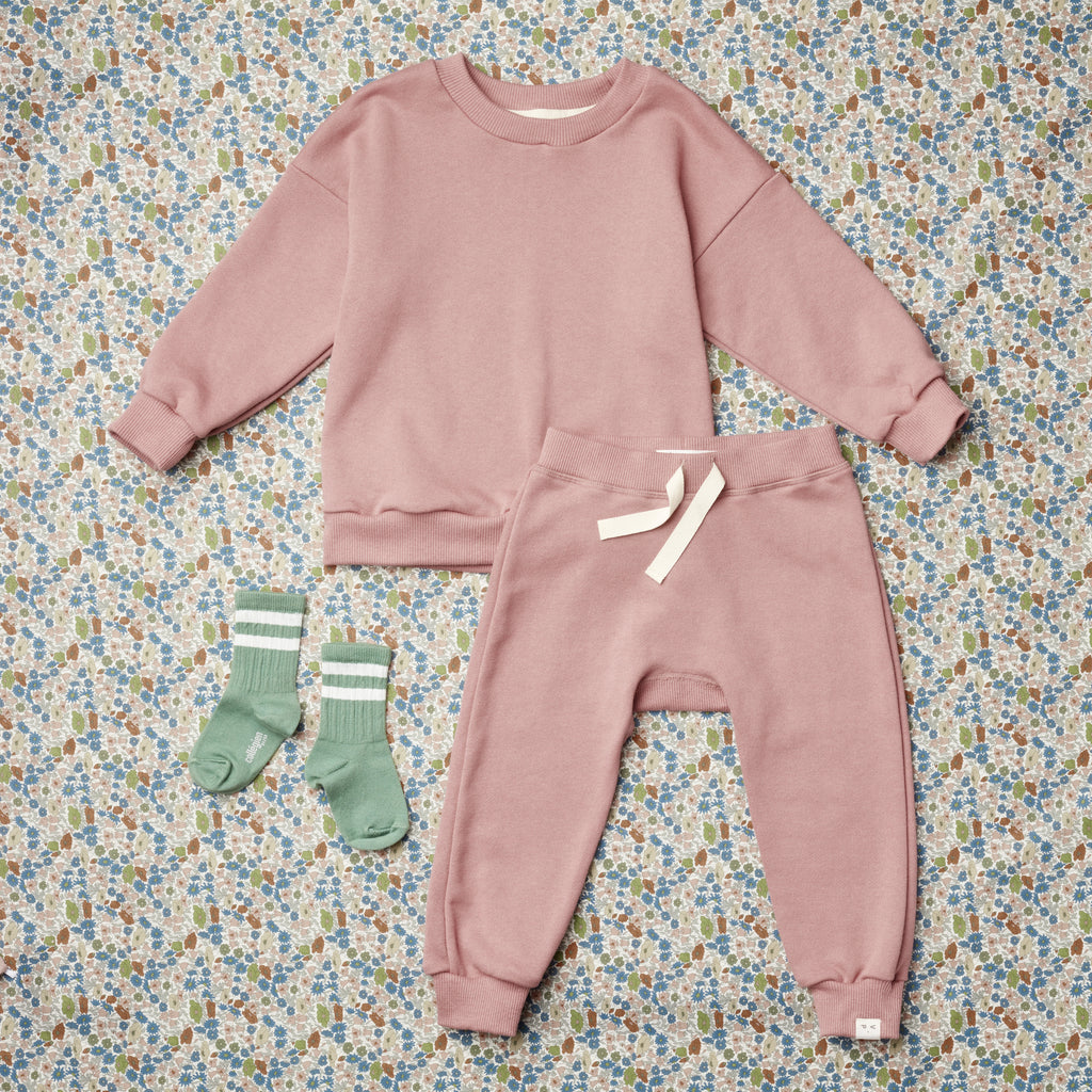Raphael Cozy Sweatpant - Good Pink