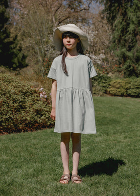 Martine T-Shirt Dress - Green Tea