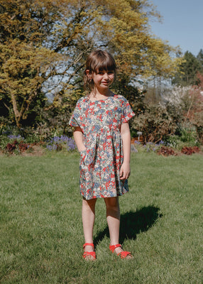 Marie Everyday Dress - Thorpe Red