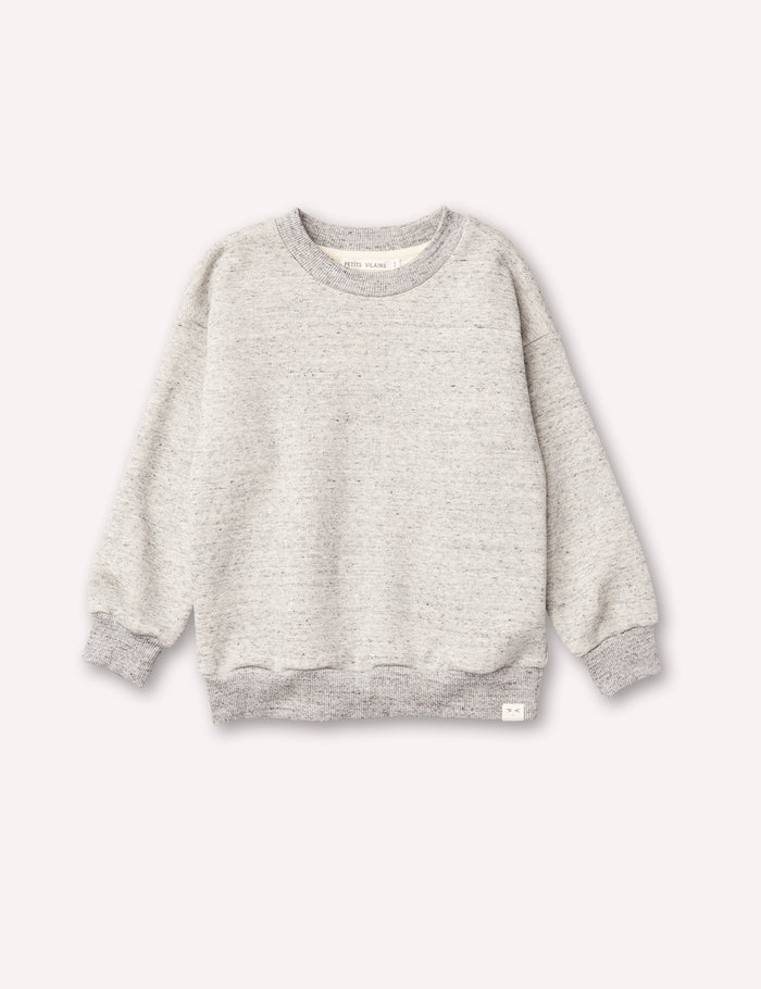 Emil Cozy Sweatshirt - Speckle Grey