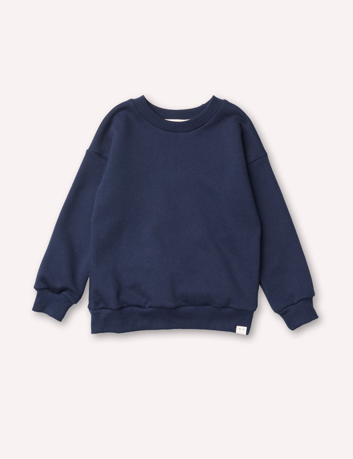 Emil Cozy Sweatshirt - Navy