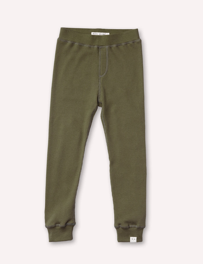 Luc Thermal Pant - Olive