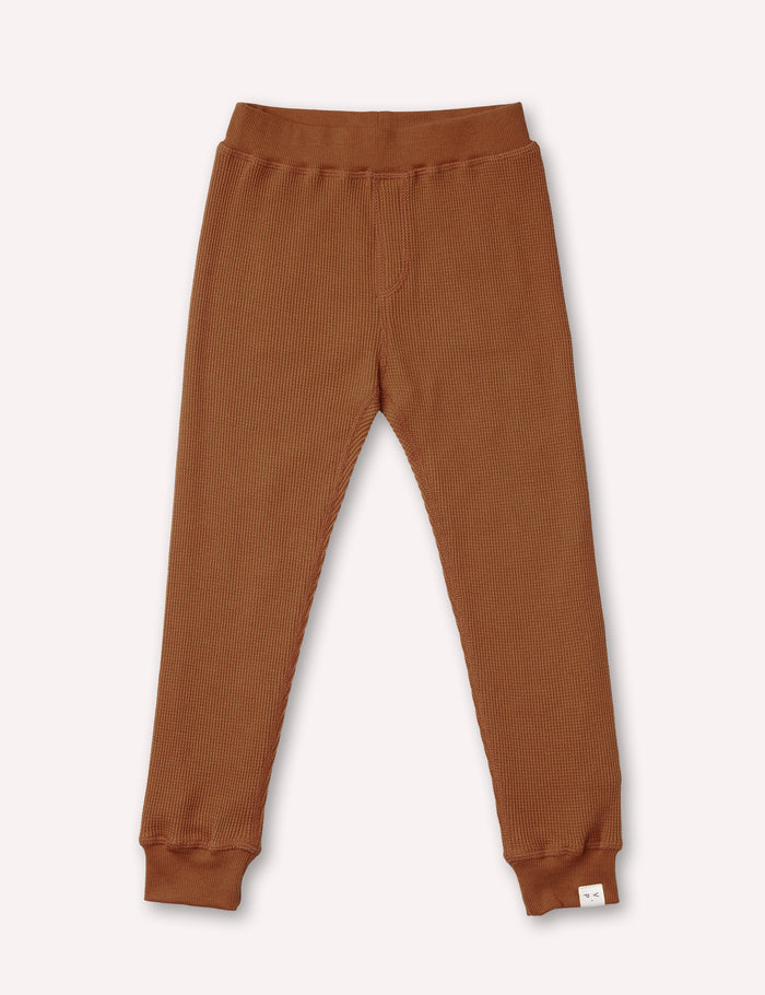 Luc Thermal Pant - Terracotta