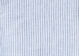 Emmanuelle Henley Dress - Blue Stripe