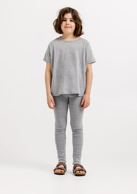 Coeur Boxy Tee - Heather Grey