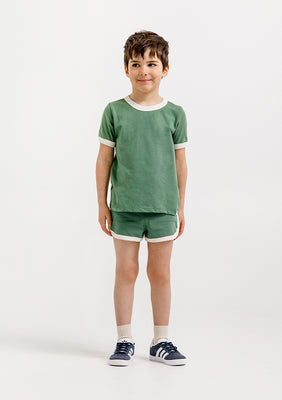 Jean Ringer Tee - Atlas/Natural