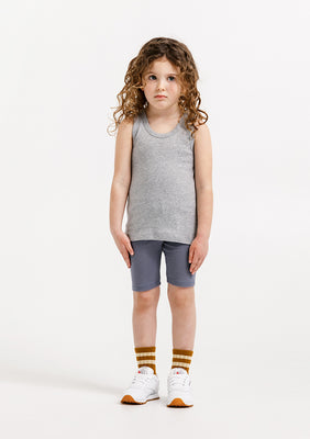 Basile Classic Tank - Heather Grey