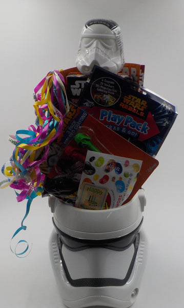 STAR WARS BUCKET OF BIRTHDAY WISHES – Storm Trooper