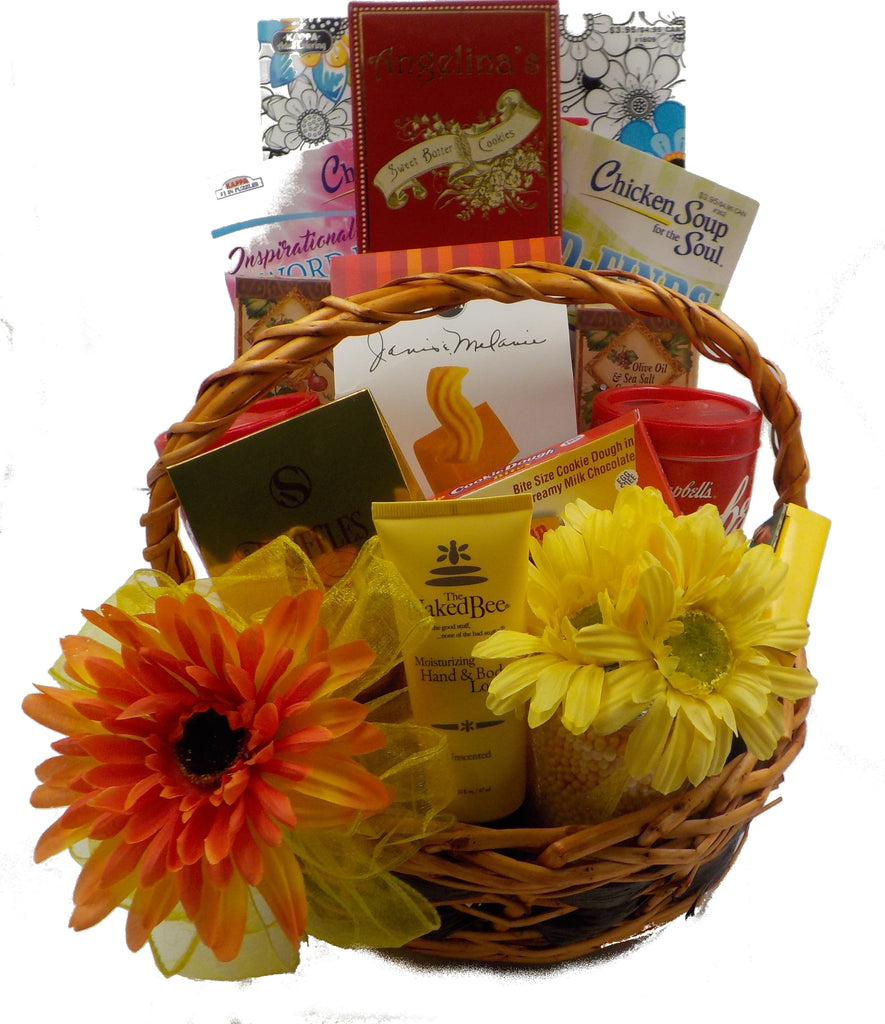 GET WELL – CHICKEN SOUP FOR THE SOUL GIFT BASKET