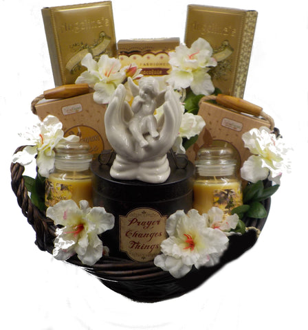 SYMPATHY GIFT BASKET – SENDING PRAYERS