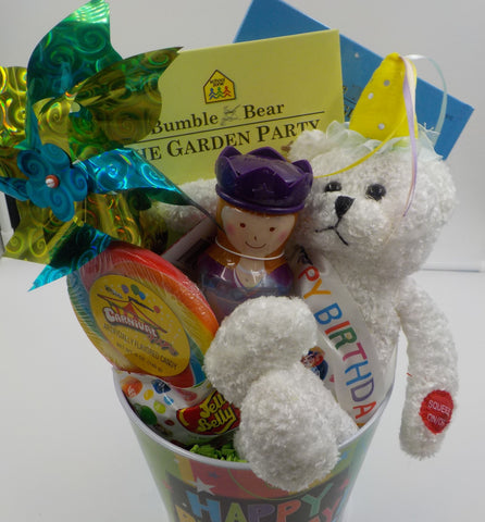 The Little Girl's Birthday Garden Party Gift Basket