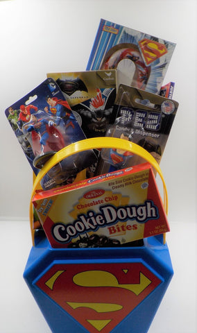Superman Holiday Gift Basket by Kindmagnolia