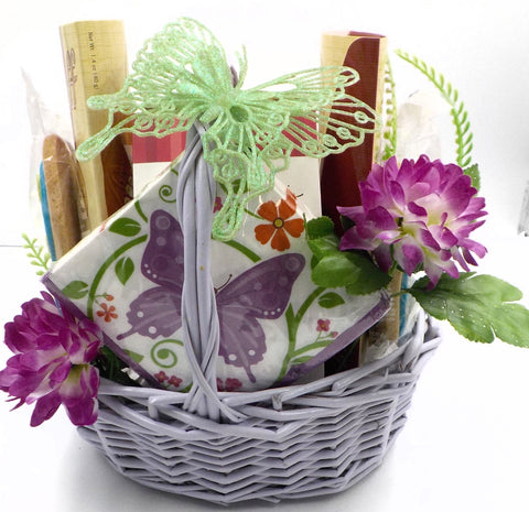 DELIGHT SOMEONE WITH A SPRING COOKIE BOUQUET GIFT BASKET