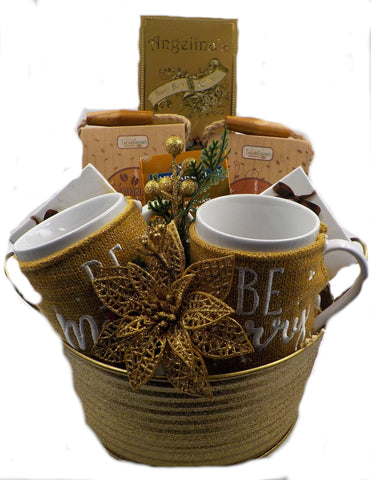 Be Merry Holiday Gift Basket