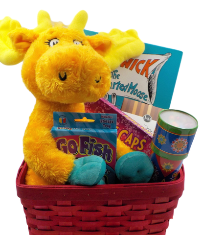 Thidwick the Moose Children's Holiday Gift Basket by Kind Magnolia