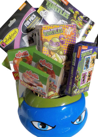 NINJA TURTLE BIRTHDAY BASKET by Kind Magnolia