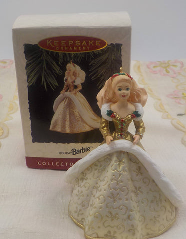 Barbie Ornament - Christmas Ornament - Collectible - 1994 - Christmas Decor
