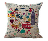 London Calling Pillowcase-[travel-gifts]-[travel fashion]-[travel accessories]-[top items to pack]-GoFar Essentials