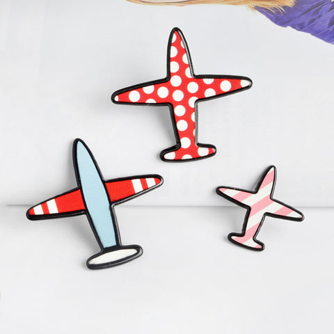 Airplanes dots & stripes - 3 pc set
