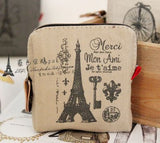 Retro Paris Coin purses