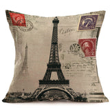 Paris pillow covers