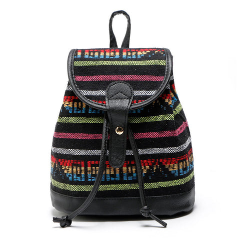 Small Canvas print Backpack