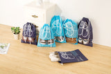 Travel Shoe Bag w/drawstring