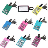 Snappy luggage tags