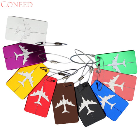 Airplane Luggage Tags - free with GoFar sign up