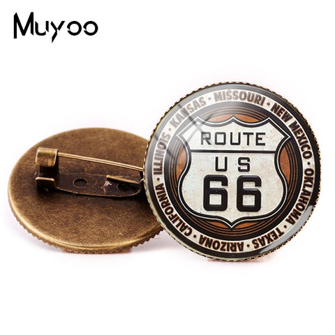 ROUTE 66 Pins