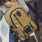 Unisex Canvas Backpack from GoFar