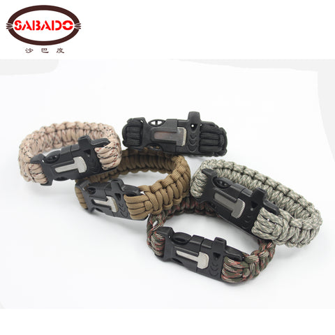 Multi-function Paracord Braided Bracelet