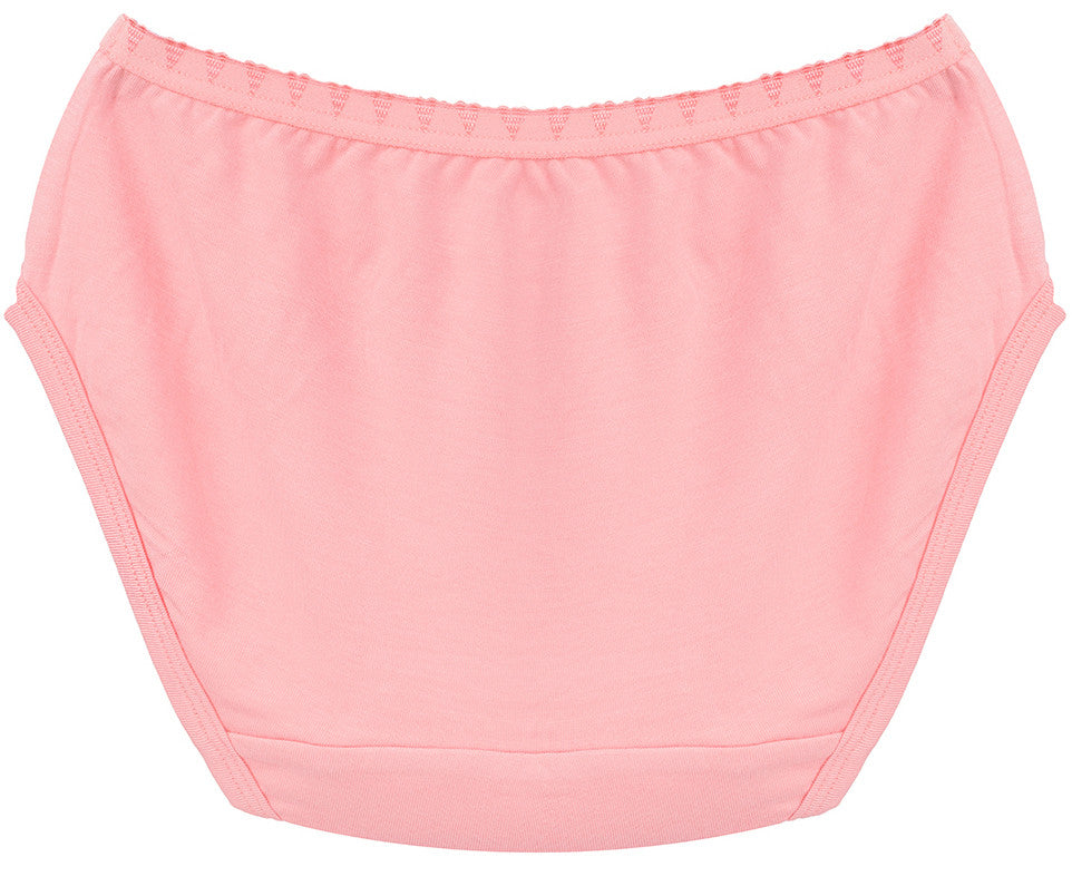 Classy Coral Girls Brief Underwear | Classy Coral Girls Panties