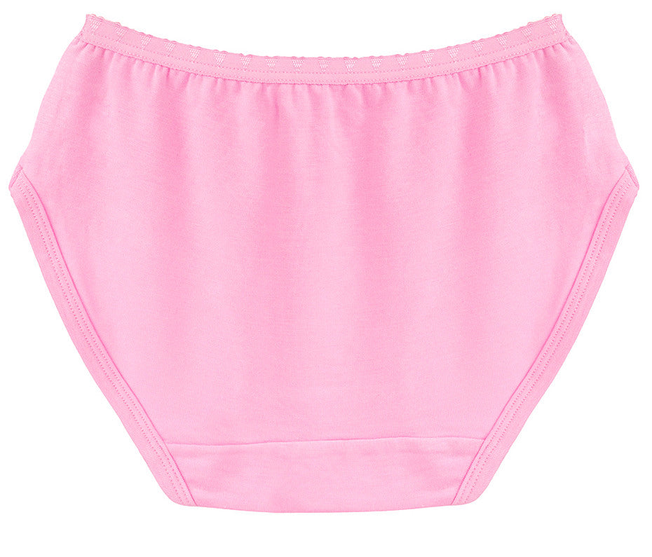 Precious Pink Girls Brief Underwear | Precious Pink Girls Panties