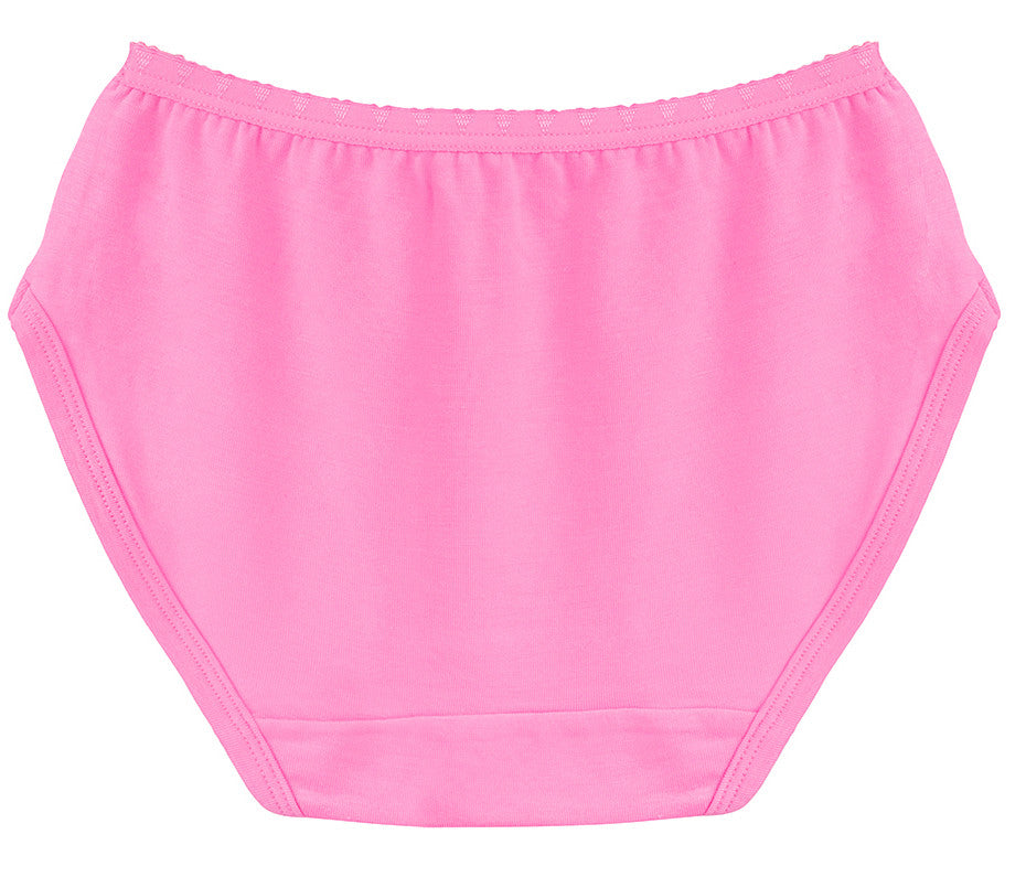 Poppin Pink Girls Brief Underwear | Poppin Pink Girls Panties