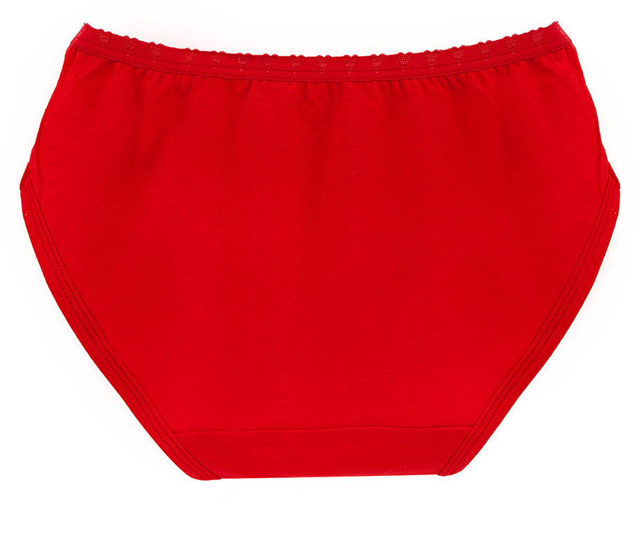 Rosey Red Girls Brief Underwear | Rosey Red Girls Panties
