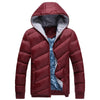 Casual Cotton-padded Winter Jacket Men Thick Warm Winter Coats For Men
