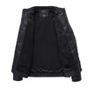 Autumn Winter Stand Collar Thick Slim Black Jacket