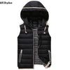 Casual Hooded Slim Fit Body warmer