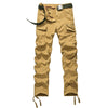 Casual Cotton  Cargo Five Colors Comfortable Pants Men