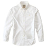 100% Cotton Shirt White Casual Shirt Long Sleeve Men Shirt Men's Clothing