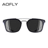 Classic Polarized Sunglasses Men Driving TR90 Frame Sunglasses Goggles UV400