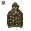 Army Green Camouflage Hoodies spring Men Como Pullover Hooded Sweatshirts Hip Hop Swag Cotton Street wear
