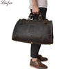 Big capacity Crazy horse genuine leather men travel bag High quality Cow Leather travel duffel weekend luggage shoulder bags