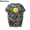 Camouflage 3 D Printed Crew neck Hipster T-shirt Short Sleeve Summer Novelty Printing Como Men's T Shirt Male Top