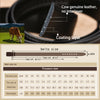 Automatic Buckle Genuine Leather Belts For Men Belt Luxury Strap Man Fashion Male Belts