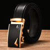 Belt Men Top Quality Genuine Leather Belts for Men's business Strap Male Metal Automatic Buckle