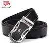 Belt Men Good Quality Genuine Luxury Leather Men's Belts for Men Male Metal Automatic Buckle