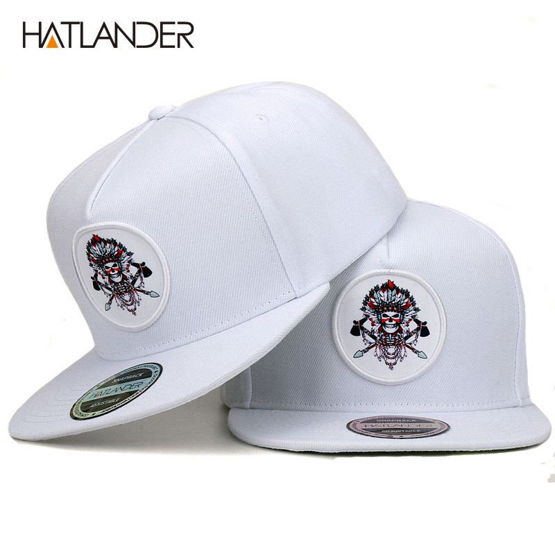 White baseball caps men women sports hats bone Chief original snap back hip  hop cap hat 40e2a5bce9c0