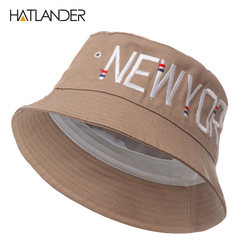 Embroidery New York hat for men women outdoor sport hip hop cap beach sun  hat fishing 0ab7758b88